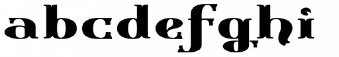 Gondolieri Expanded Bold Font LOWERCASE