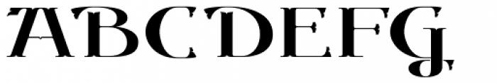 Gondolieri Expanded Font UPPERCASE