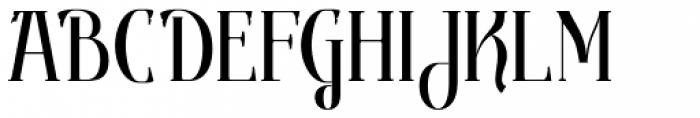 Gondolieri Text Condensed Font UPPERCASE