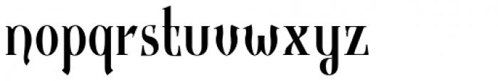 Gondolieri Text Condensed Font LOWERCASE