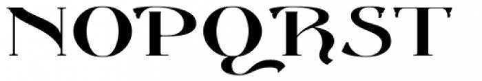 Gondolieri Text Expanded Font UPPERCASE