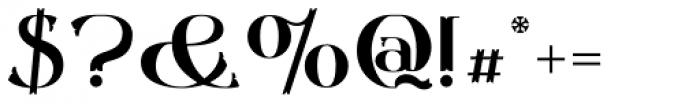 Gondolieri Font OTHER CHARS