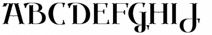 Gondolieri Font UPPERCASE
