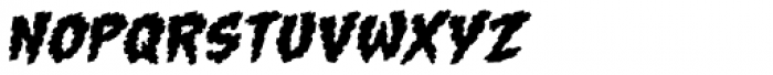 Gone Fission BB Italic Font LOWERCASE