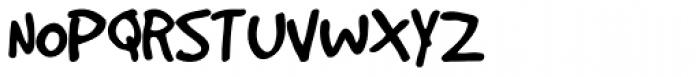 Good Dog Plain Font UPPERCASE