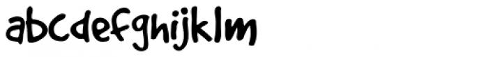 Good Dog Plain Font LOWERCASE