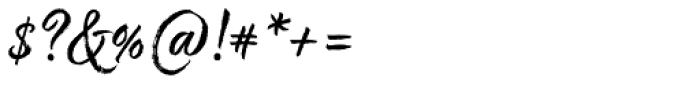Good Karma Regular Font OTHER CHARS