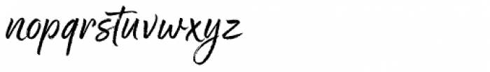 Good Karma Regular Font LOWERCASE