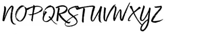 Good Karma Upright Font UPPERCASE