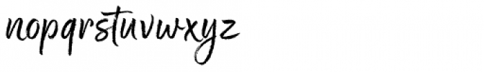 Good Karma Upright Font LOWERCASE