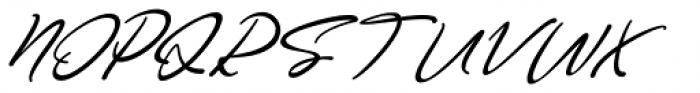 Good Thinking Italic Font UPPERCASE