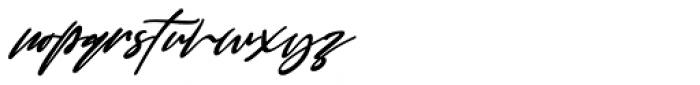 Good Thinking Italic Font LOWERCASE