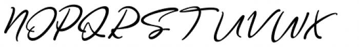 Good Thinking Regular Font UPPERCASE