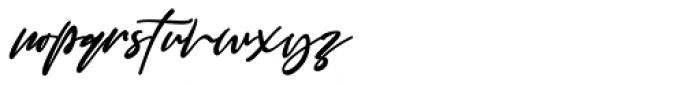 Good Thinking Regular Font LOWERCASE