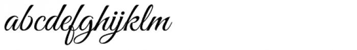 Good Vibrations Pro Font LOWERCASE