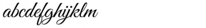 Good Vibrations ROB Script Font LOWERCASE