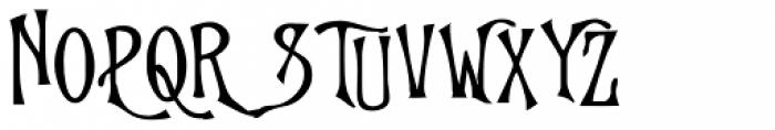 Goodfellow Bold Font UPPERCASE