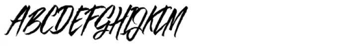 Goodfy Pro Font UPPERCASE