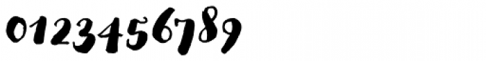 Goodlife Brush Font OTHER CHARS