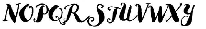 Goodlife Brush Font UPPERCASE