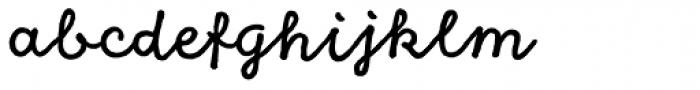 Goodlife Script Font LOWERCASE