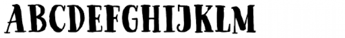 Goodlife Serif Bold Font UPPERCASE