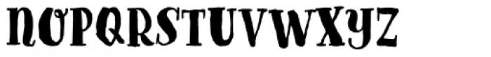 Goodlife Serif Bold Font LOWERCASE