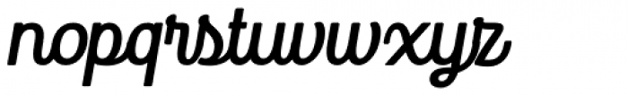 Goodwater Script 3 Font LOWERCASE
