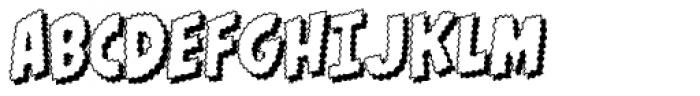 Goosebumps Outline Font UPPERCASE