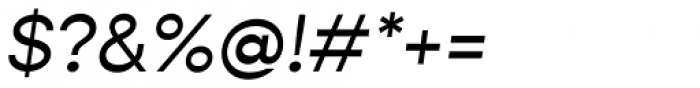 Gopher Text Italic Font OTHER CHARS