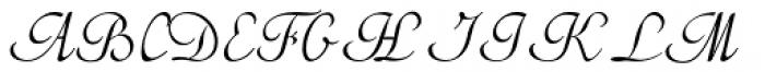 Gorchs Slanted Font UPPERCASE