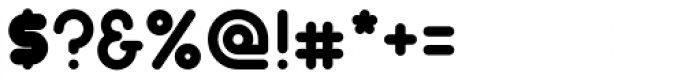 Gorda Font OTHER CHARS