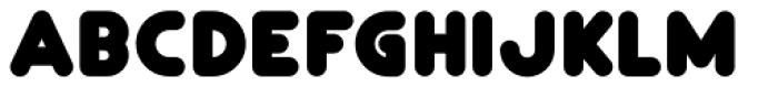 Gorda Font UPPERCASE