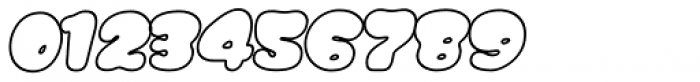 Gordis Outline Italic Font OTHER CHARS