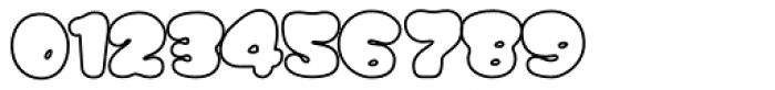 Gordis Outline Font OTHER CHARS