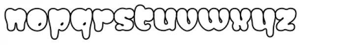 Gordis Outline Font LOWERCASE