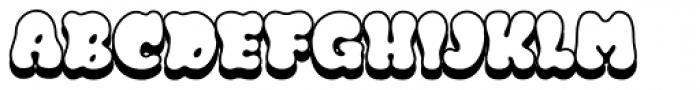 Gordis Shadow Font UPPERCASE