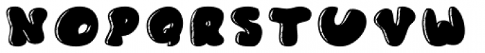 Gordito Chubby Font UPPERCASE