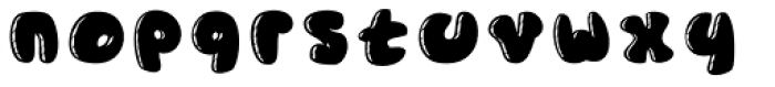 Gordito Chubby Font LOWERCASE