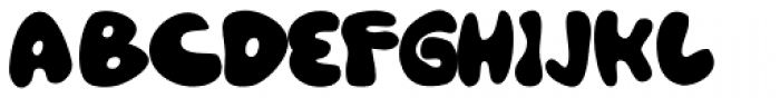 Gordito Font UPPERCASE