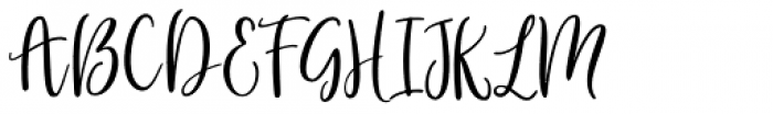 Gorgeous Duo Script Font UPPERCASE