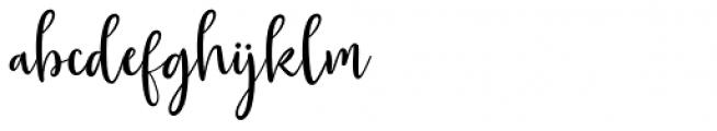 Gorgeous Duo Script Font LOWERCASE