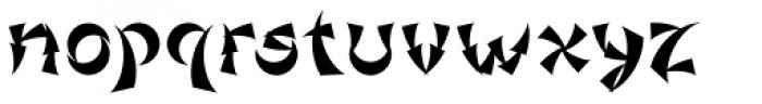 Gorod.Khabarovsk Bold Font LOWERCASE