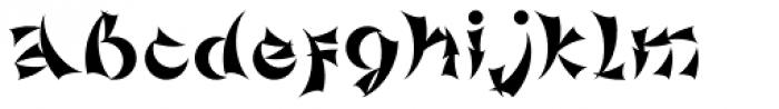 Gorod.Khabarovsk Font LOWERCASE