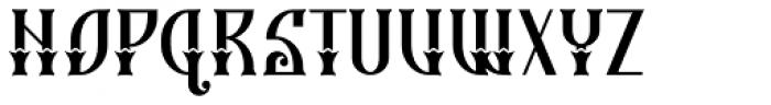 Gorod.Tsaritsyn Bold Italic Font UPPERCASE
