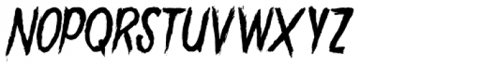 Gory Madness Variant Font LOWERCASE
