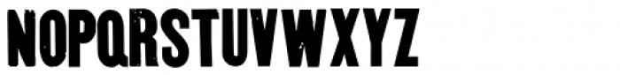 Goshen Font LOWERCASE