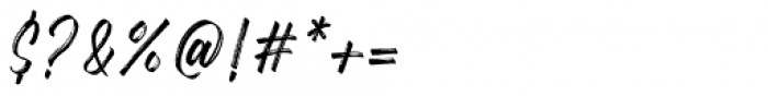 Gosthel Gosthel Font OTHER CHARS