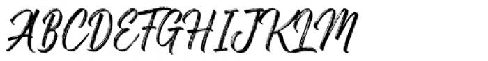 Gosthel Gosthel Font UPPERCASE