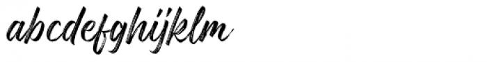 Gosthel Gosthel Font LOWERCASE